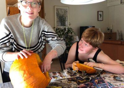 Halloween på Kirstinelund